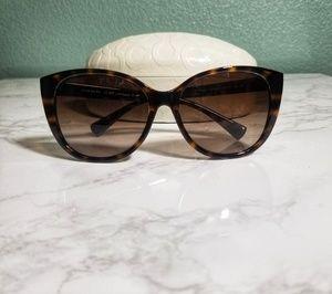Coach Faye Cat Eye Sunglasses